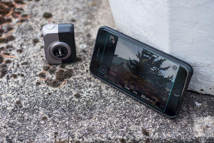 Phụ kiện DxO One 20.2MP biến iPhone thành máy ảnh DSLR
