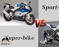 Chúng ta đang hiểu sai về Sport-bike và Super-bike