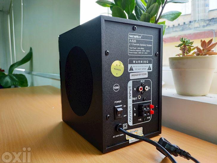 Trải nghiệm nhanh loa vi tính Soundmax A-826: Chất âm khá, giá rẻ