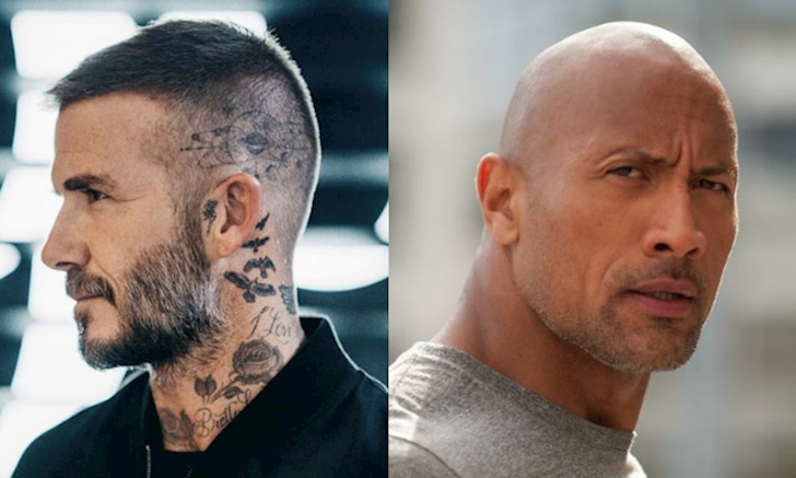 David Beckham The Rock Dwayne Johnson Tuong dai nam tinh danh cho dan ong