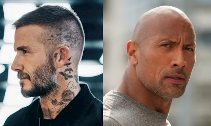 David Beckham, The Rock Dwayne Johnson: Tượng đài nam tính dành cho đàn ông