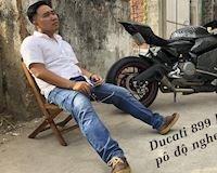 Ducati lên pô slip-on nổ như súng