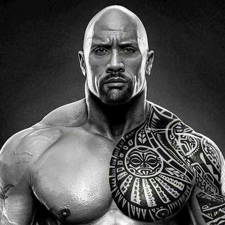 "Muon xam minh hay xam hinh nhu ""The Rock"" Dwayne Johnson"