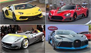 Những siêu xe mạnh nhất thế giới