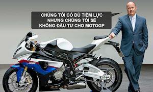 Tại sao BMW không tham gia MotoGP, có phải vì BMW HP4 quá yếu?