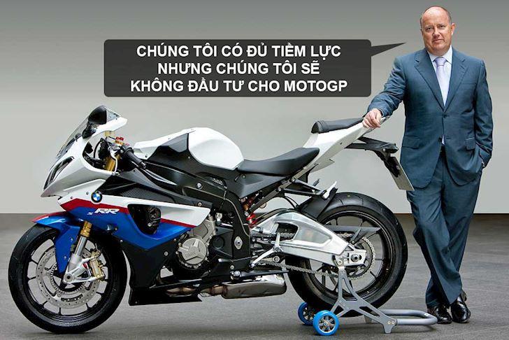 Tại sao BMW không tham gia MotoGP, có phải vì BMW HP4 quá yếu