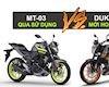 Mua Yamaha MT-03 cũ hay KTM Duke 250 mới?
