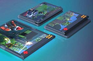 Độc đáo bằng sáng chế smartphone gập chuyên game mới của Samsung khi có cả phím vật lý
