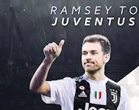 """""""Dưới một người trên vạn người"""", Ramsey 99% gia nhập Juventus"""