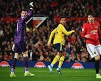 De Gea tức giận với sai lầm của hàng thủ Man Utd
