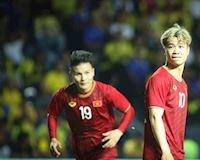Đội hình ra sân Việt Nam gặp Malaysia: Công Phượng sát cánh cùng Quang Hải