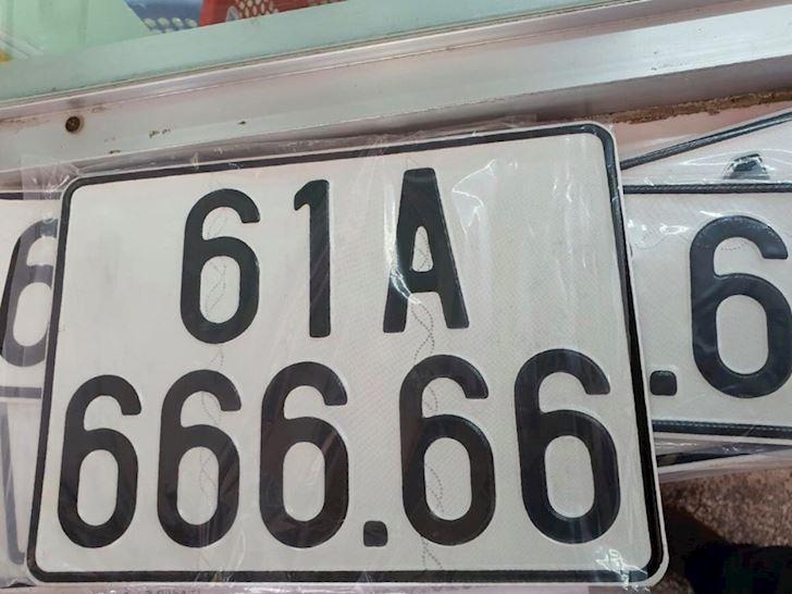 Biển số đẹp 61A-666.66
