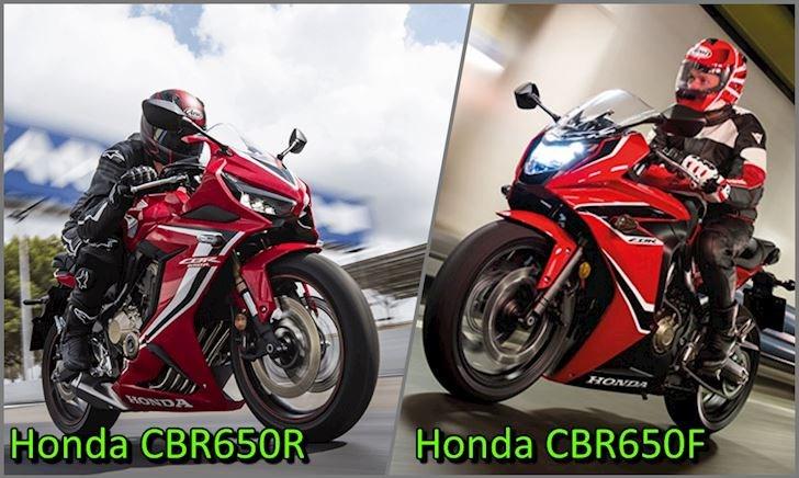 So sánh Honda CBR650F và CBR650R – Dại dột mới mua CBR650F