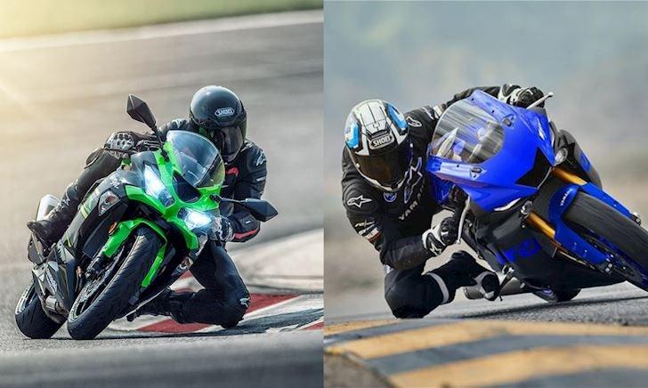 Yamaha YZF-R6 và Kawasaki ZX-6R: Kẻ tám lạng, người nửa cân