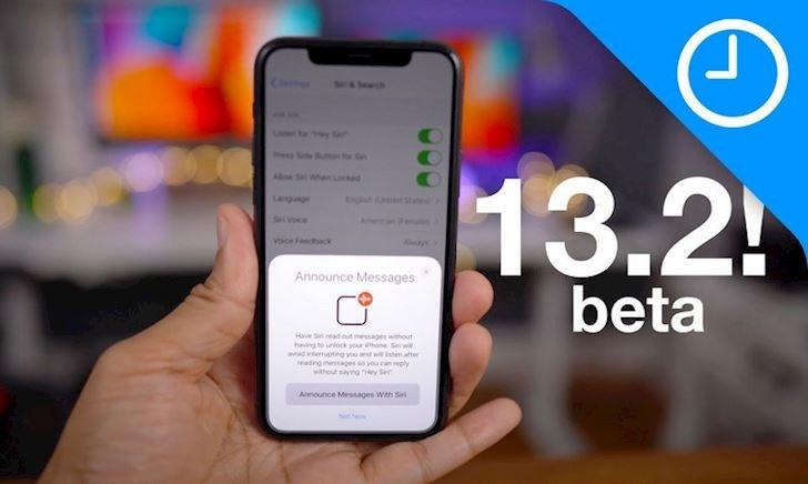 Có gì mới trên bản cập nhật iOS 13.2 beta 2?