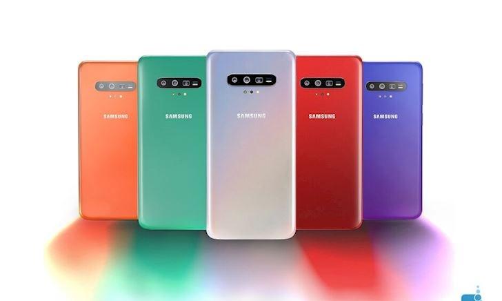 Bằng sáng chế tiết lộ thiết kế đẹp mắt của Galaxy S11