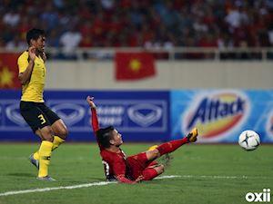 Video clip: Nhìn lại màn trình diễn điểm 10 của Quang Hải trước Malaysia