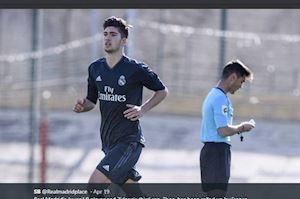 Zidane tiếp tục cơ cấu con trai vào Real Madrid