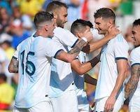 Vắng Messi, Argentina thắng với tỷ số không tưởng