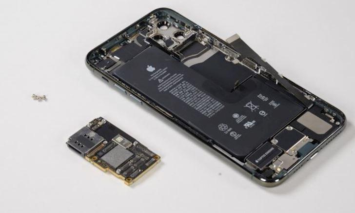 Tổng chi phí linh kiện sản xuất của một chiếc iPhone 11 Pro Max chưa bằng nửa giá bán