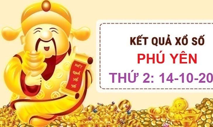 Kết quả xổ số Phú Yên thứ 2 hôm nay - XSPY ngày 14-10-2019
