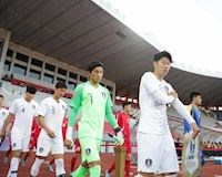Video clip: Cầu thủ Triều Tiên và Hàn Quốc tranh cãi nhẹ tại vòng loại World Cup 2022