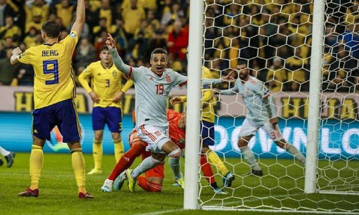 Vong loai EURO: Tay Ban Nha thoat hiem, Y dai thang anh 2