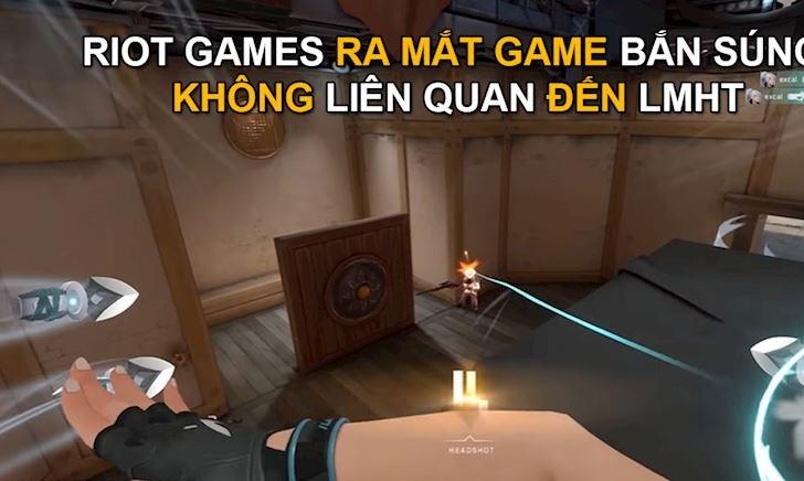 Hé lộ game bắn súng LMHT bí ẩn được Riot Games tung ra ở sinh nhật 10 năm