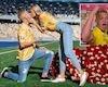 Sao Man City gây sốt khắp Ukraine vì cầu hôn bạn gái ngay trên sân