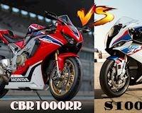 Honda CBR1000RR và BMW S1000RR: Cuộc đụng độ thế kỉ