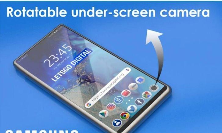 Năm sau Samsung sẽ có smartphone ẩn camera bên dưới màn hình, hiện tại đang bắt đầu sản xuất