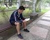 Video clip: Thủ môn Bùi Tiến Dũng đọc sách luyện tinh thần thép đấu 'Thể công của Triều Tiên'