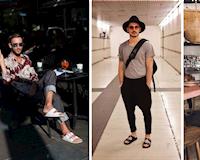 Dép Birkenstock - Món thay thế giày cho đàn ông phóng khoáng