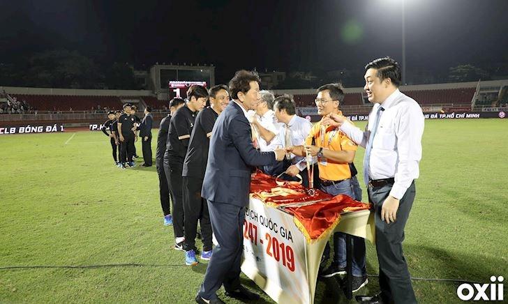 HLV Chung Hae-seong quyết biến TP.HCM thành CLB tốt nhất V.League