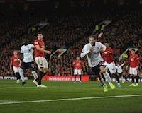 Bảng xếp hạng bóng đá Anh: Man Utd chặn đứng Liverpool