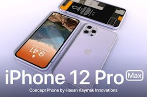 Video concept iPhone 12 Pro Max: Thiết kế tinh tế, camera hình vuông, nhiều màu sắc