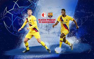 Tructiepbongda. Link xem trực tiếp Slavia Praha vs Barcelona 02h00 ngày 24/10
