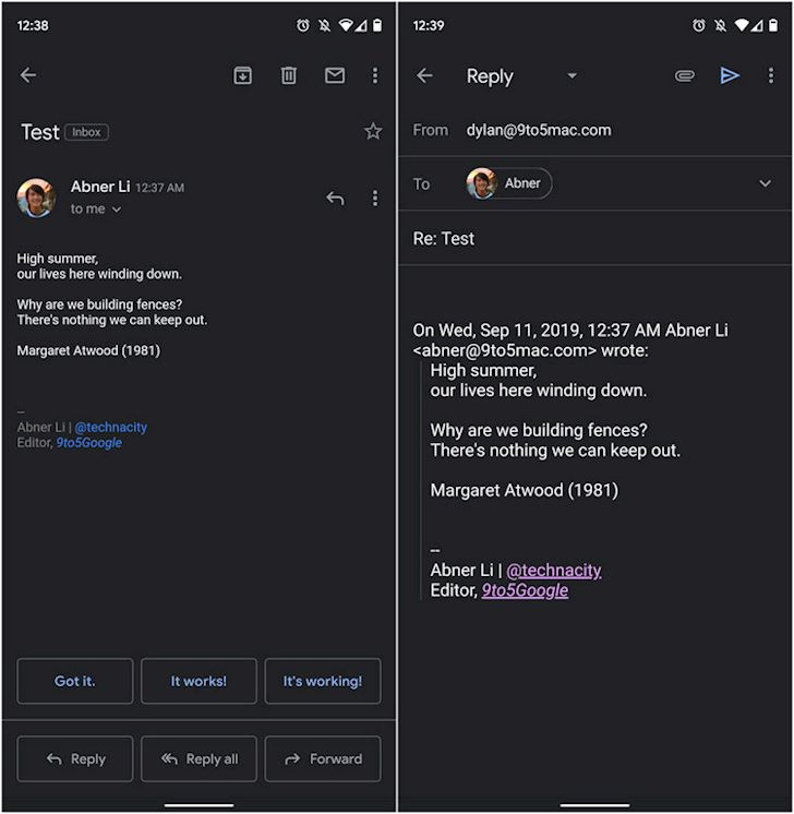 Cach bat Dark mode cho Gmail tren dien thoai cuc de 3