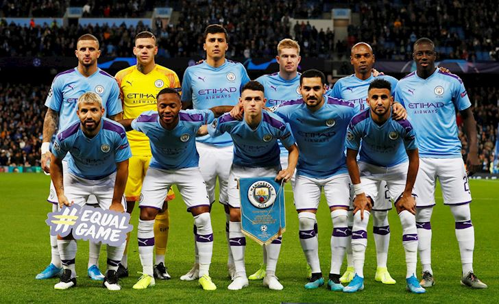 Da khong can trung ve, Man City dai thang o Champions League anh 1