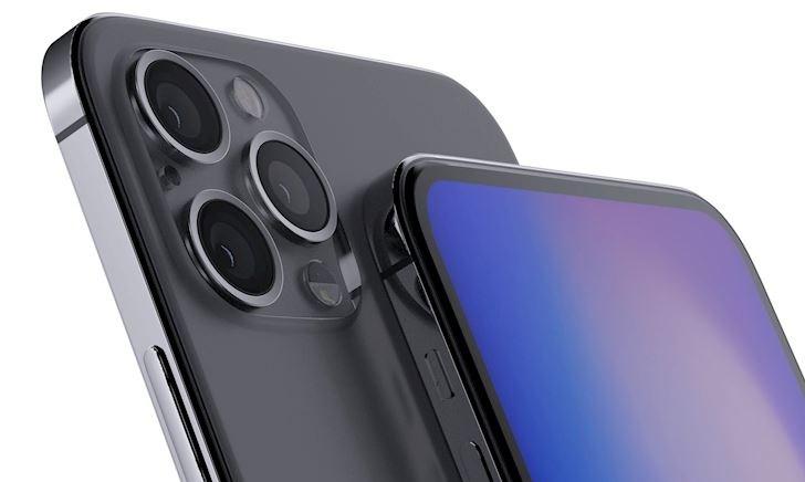 iPhone 2020 đang được thử nghiệm với việc loại bỏ phần tai thỏ và có một cụm Face ID mới