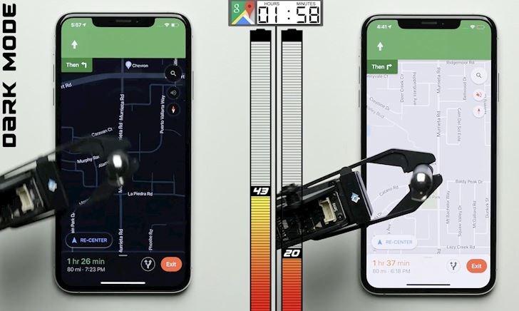 Thử nghiệm cho thấy Dark Mode trên iOS 13 giúp tiết kiệm pin đáng kể