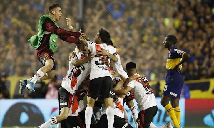 Thua Boca ở siêu kinh điển, River vẫn vào chung kết Nam Mỹ