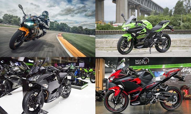 Giá Kawasaki Ninja 400 2019 hiện tại là bao nhiêu?