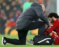 Salah chấn thương nặng, Liverpool lâm nguy trước đại chiến Man City