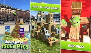 Anh em Android hãy tải tựa game Angry Birds AR này về chơi thử bảo đảm cực kỳ phê