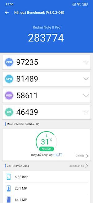 Redmi Note 8 Pro Su dung thuc te thoi luong pin va choi game 5