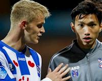 Bóng đá Việt Nam ngày 31/10: Đoàn Văn Hậu không đá cho Heerenveen trong năm 2019, HAGL thanh lý nội binh