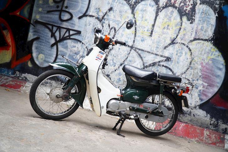 Honda Cub huyen thoai an danh trong long nguoi Viet Moi tuan 1 xe 1 4