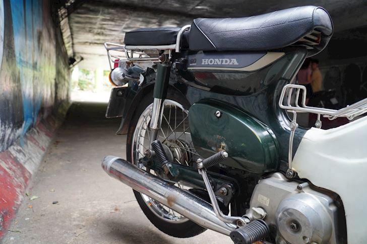 Honda Cub huyen thoai an danh trong long nguoi Viet Moi tuan 1 xe 1 5