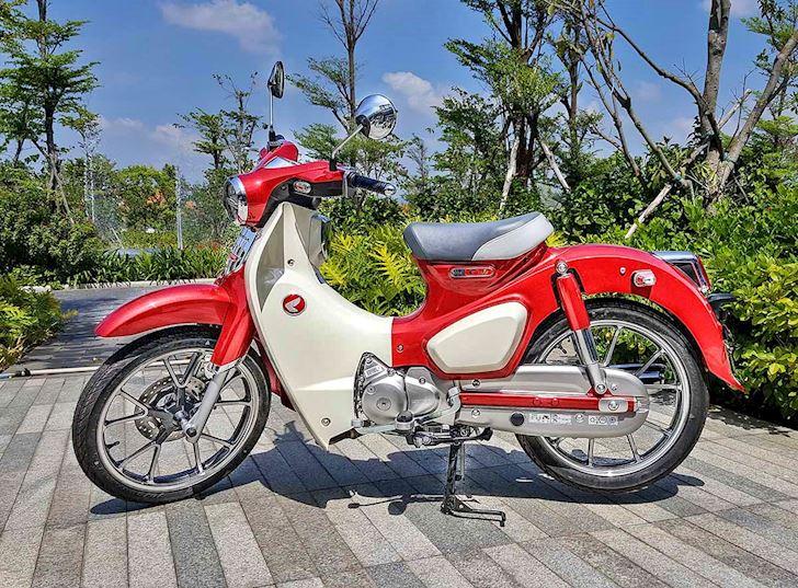 Honda Cub huyen thoai an danh trong long nguoi Viet Moi tuan 1 xe 1 7